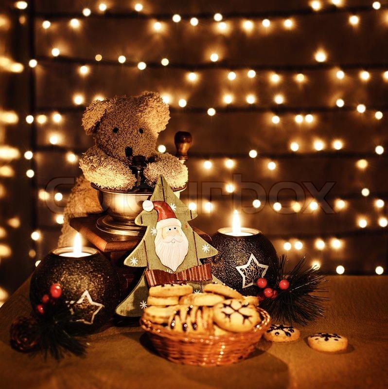 traditionelle weihnachten spielzeug stockfoto colourbox. Black Bedroom Furniture Sets. Home Design Ideas