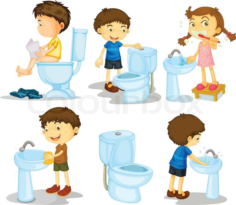 Bathroom Art Au: Kinder Und Bad-Accessoires