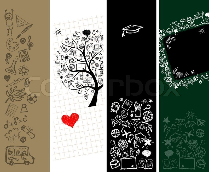 Schule banner design mit platz f r ihren text for Design schule