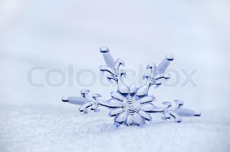 Snowflake, stock photo