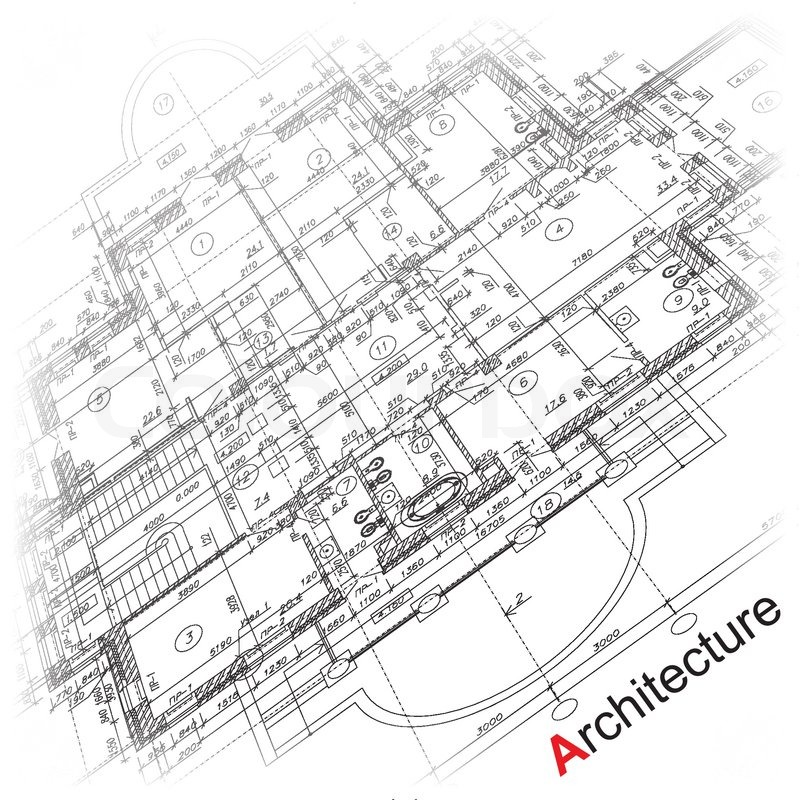 architectural background  part of