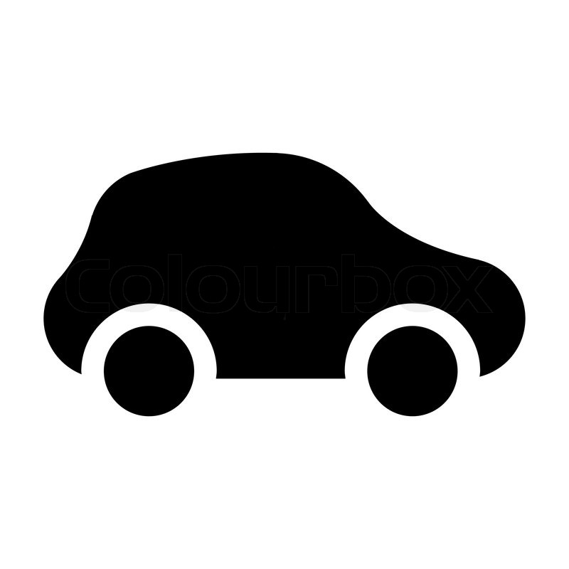 icon car stock vector colourbox rh colourbox com car icon vector top view car icon vector white