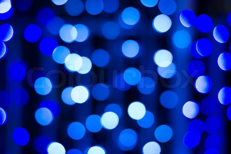 Light Blue And White Round Spot Random Background