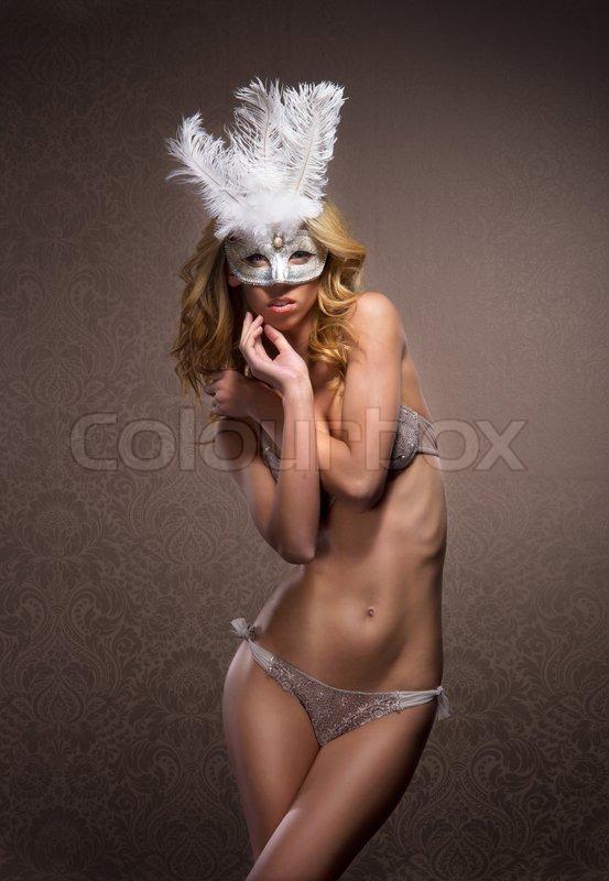 f1f0a8ec1a9 Ung sexet kvinde i erotisk lingeri og ...   Stock foto   Colourbox
