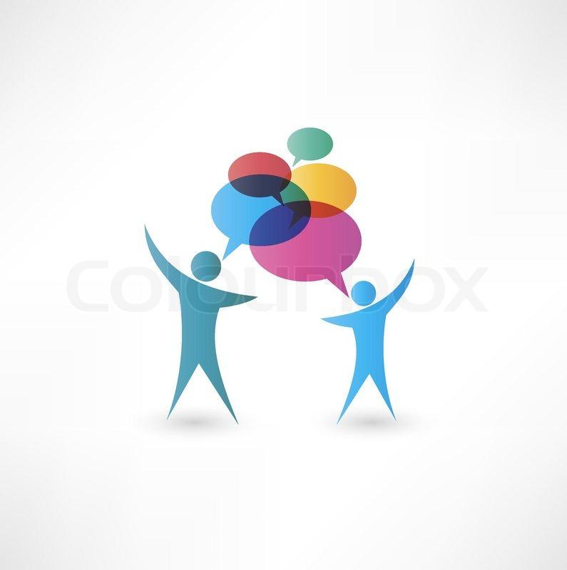 Dialog speech bubbles | Stock Vector | Colourbox