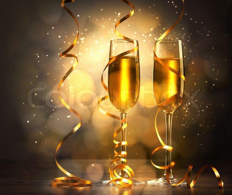 Christmas Tree Wine Glasses