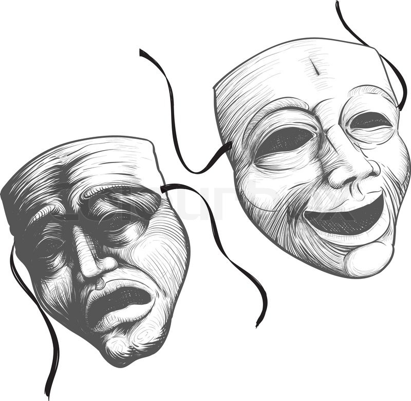 Theatre Masks Tumblr