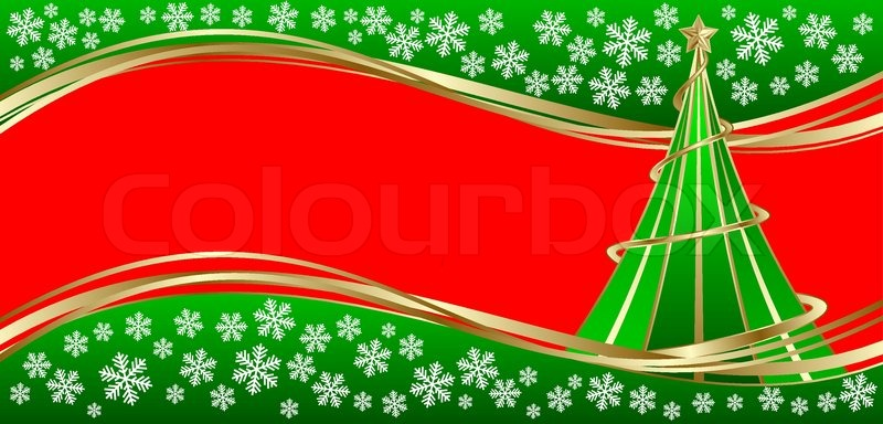 template holiday card merry christmas and happy new year stock vector colourbox
