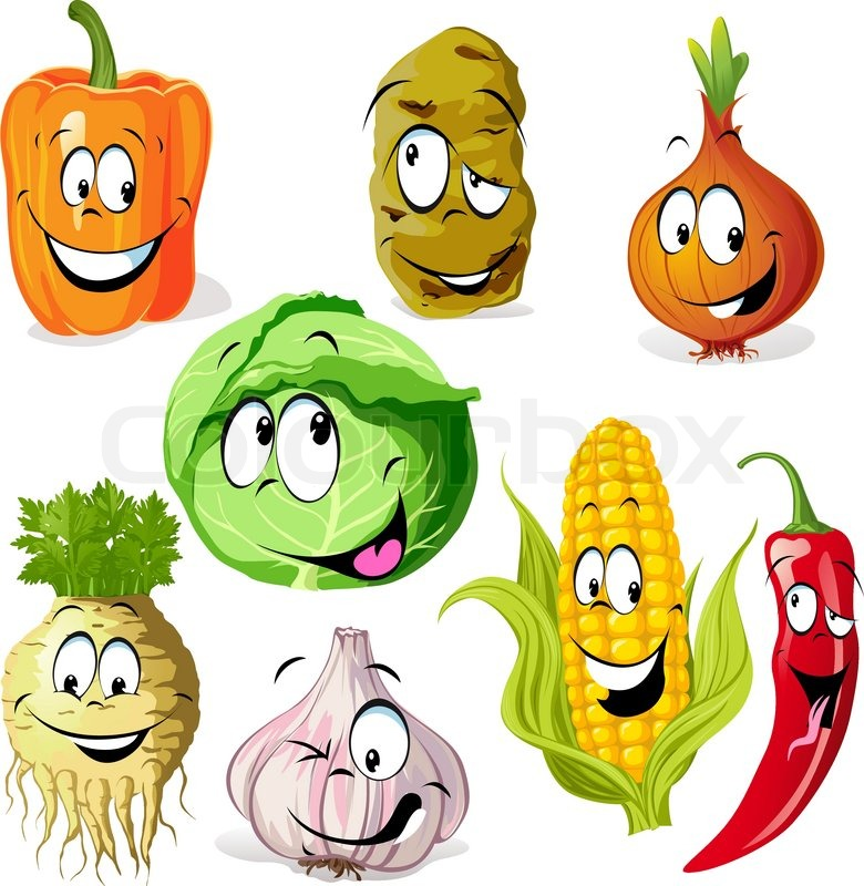 Cute Vegetable Cartoons Images & Pictures - Becuo: becuo.com/cute-vegetable-cartoons