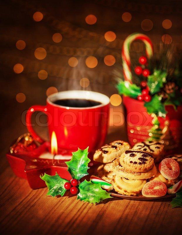 Christmas sweets still life stock photo colourbox