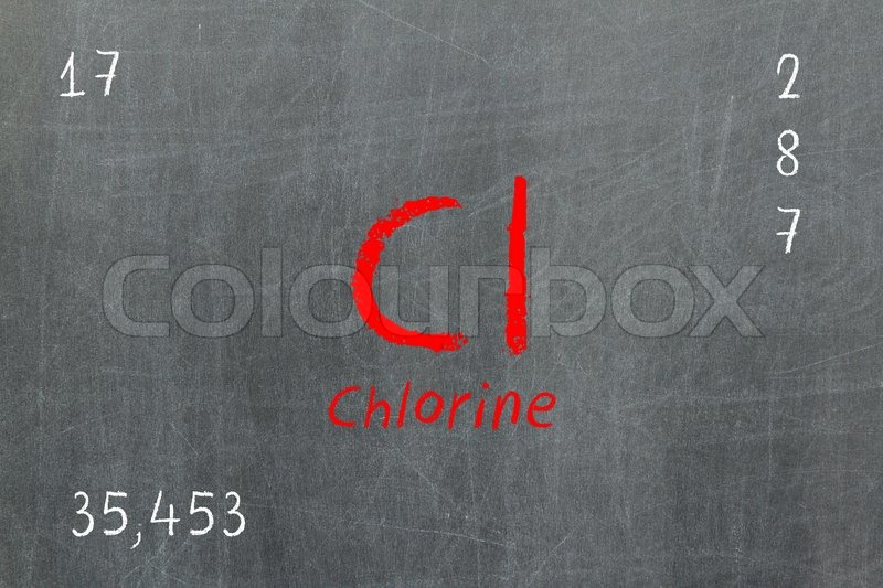 Isolated blackboard with periodic table chlorine stock photo isolated blackboard with periodic table chlorine stock photo colourbox urtaz Images
