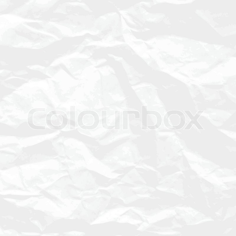 Crumpled paper background | Stock Vector | Colourbox