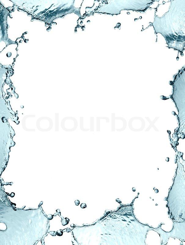 Water Frame | Stock Photo | Colourbox
