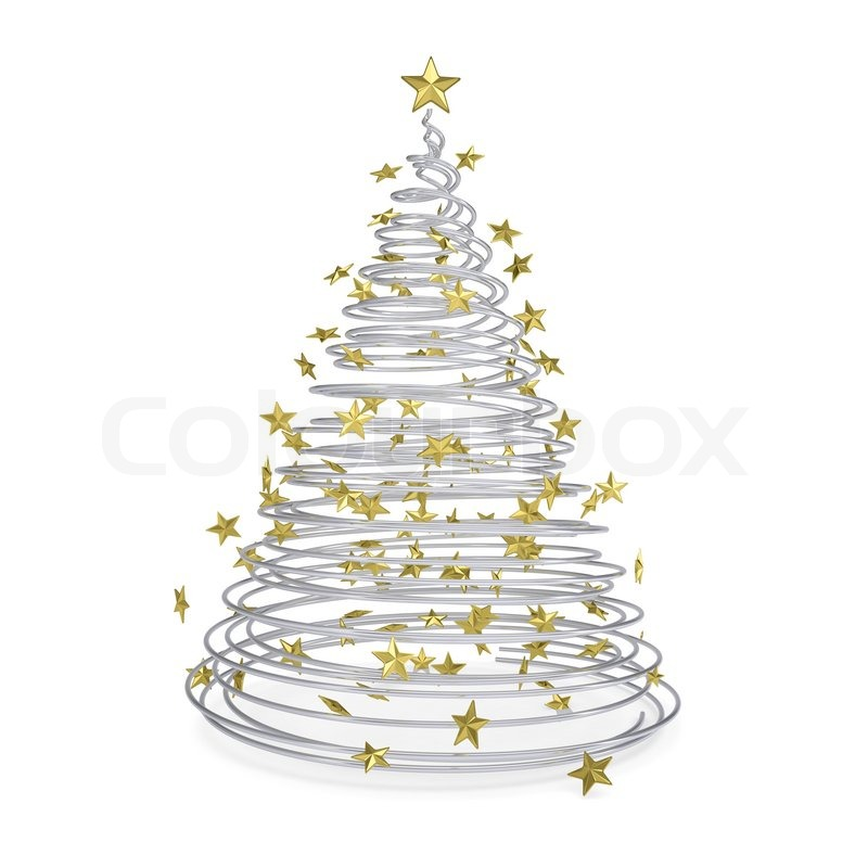 Weihnachtsbaum modern metall
