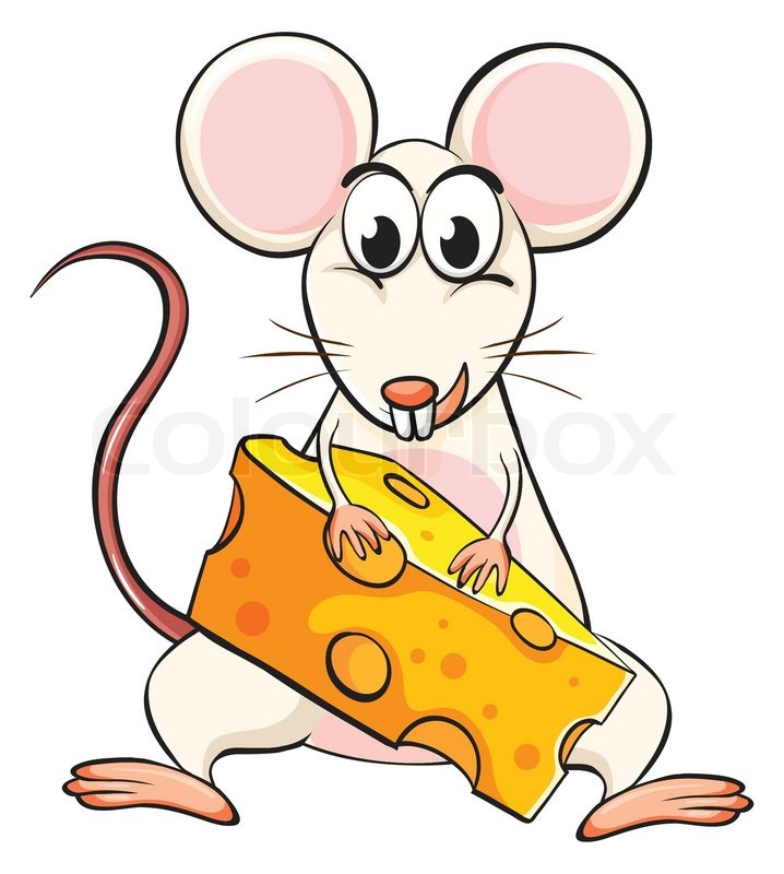 clipart mouse eating cheese - photo #10