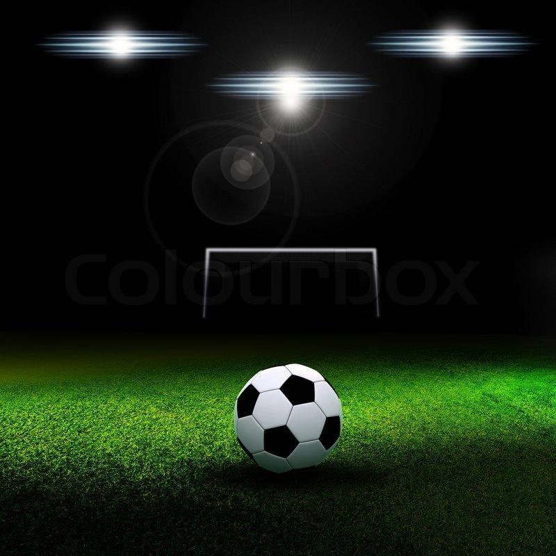 Soccer ball, stock photo