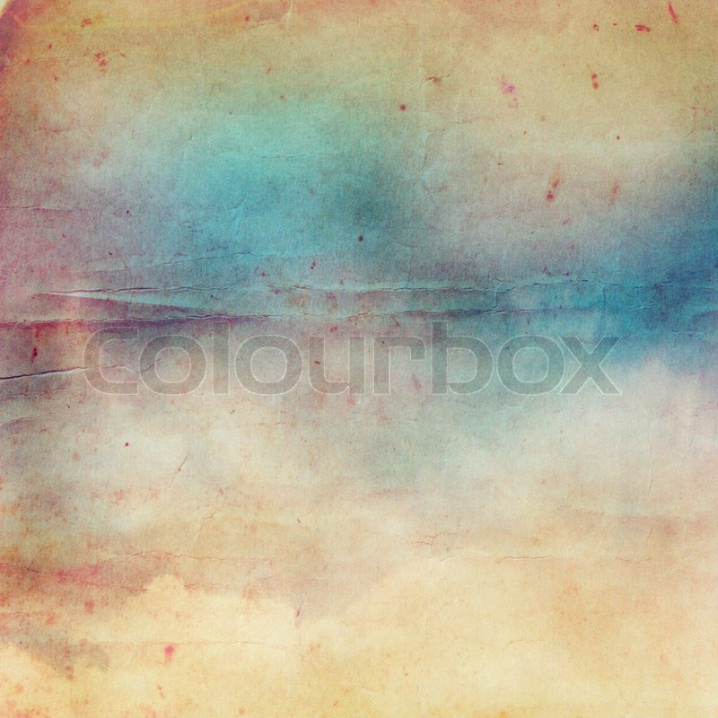 Vintage paper texture for background, stock photo