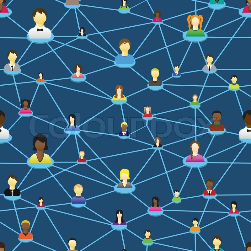 Business society people icon web Vector diagram social