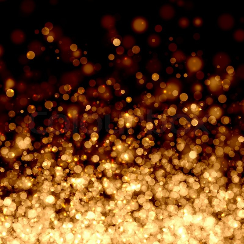 Gold Lights Backgrounds Gold abstract light background