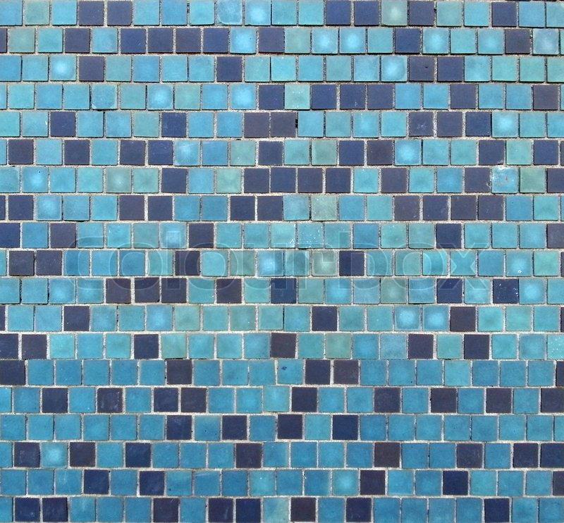 Blaue fliesen hintergrund stockfoto colourbox - Blaue fliesen ...