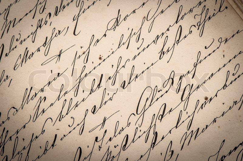 Schrift und hintergrund