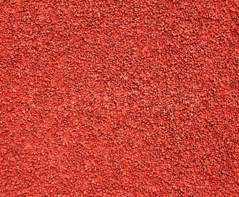 Running Track Rubber Cover Texture For Stock Image