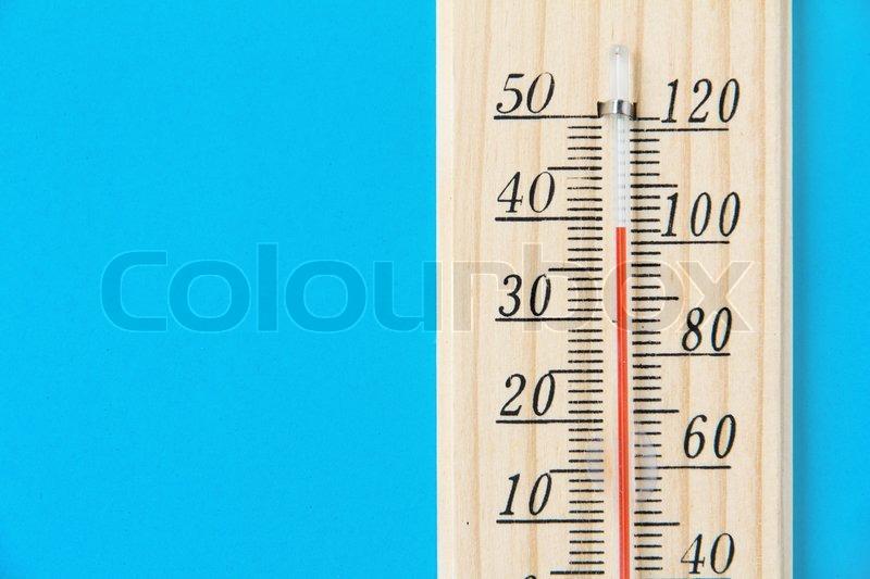 High temperature, stock photo