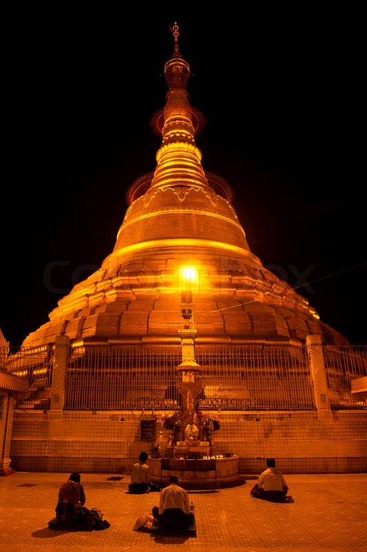 famous ancient architecture. Ancient Architecture Asia Asian Bagan Botahtaung Botataung Buddha Buddhism  Building Burma Cloud Colorful Culture Cupola Destination Dome Dusk Evening Famous Ancient