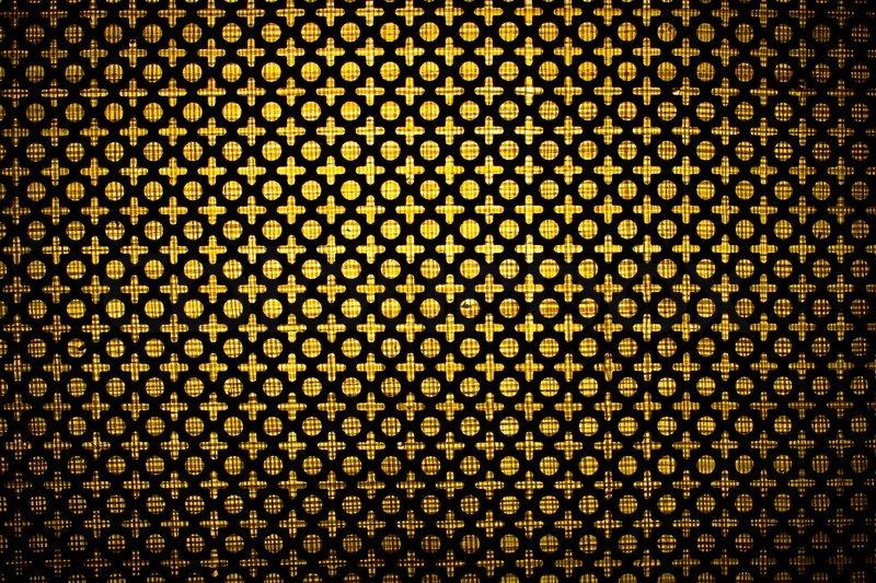 White Perforated Metal Screen