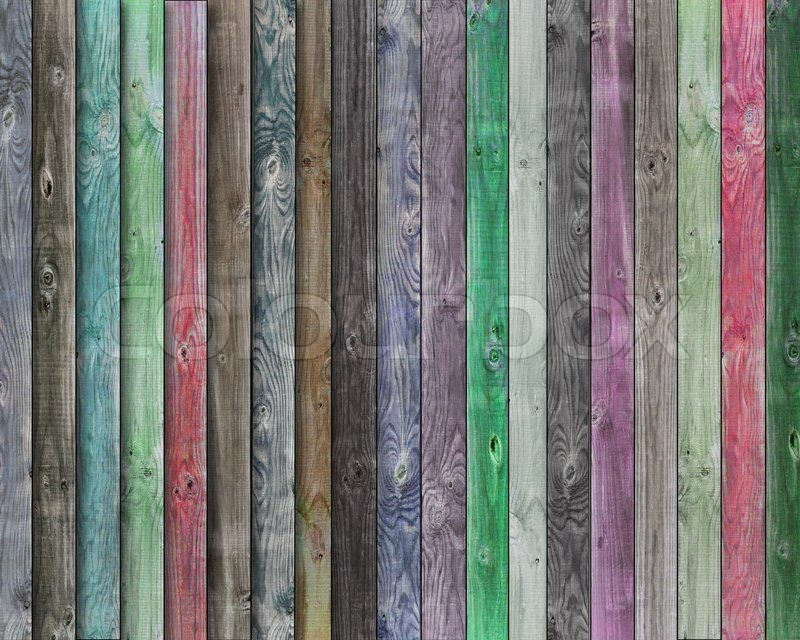 Multicolor Wood Background Stock Photo Colourbox