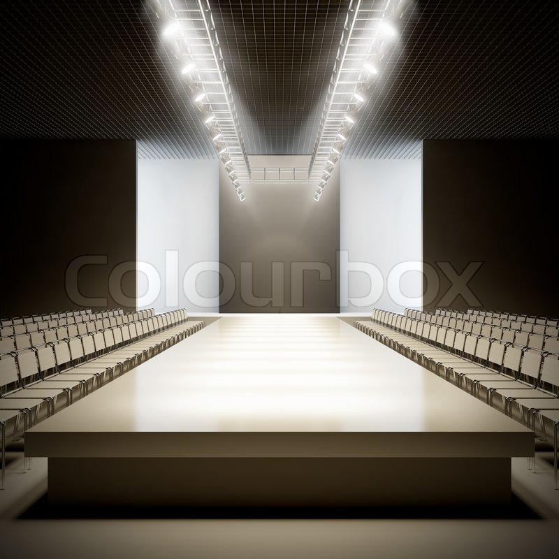Fashion Empty Runway