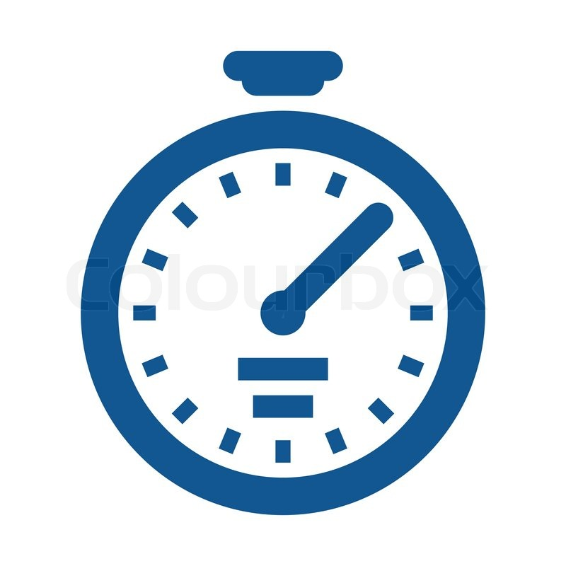 Icon Sto atch Blue Vector 5629918 on alarm clock graphic