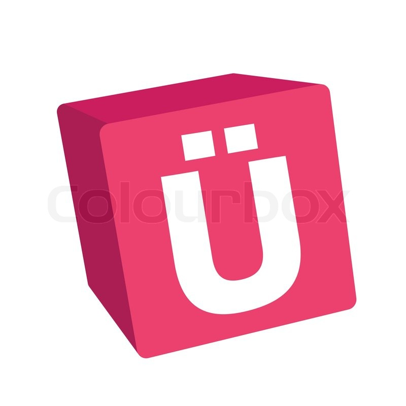 Stock vector of 'Alphabet letter, alphabet set, letter box, 3d alphabet'