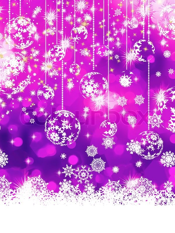 purple christmas background eps 8 stock vector colourbox