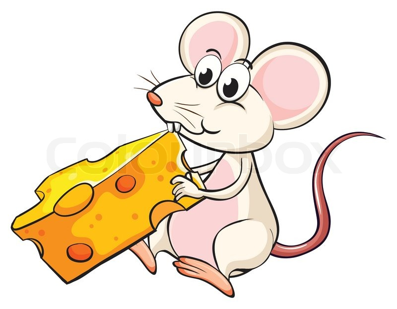 clipart mouse eating cheese - photo #3
