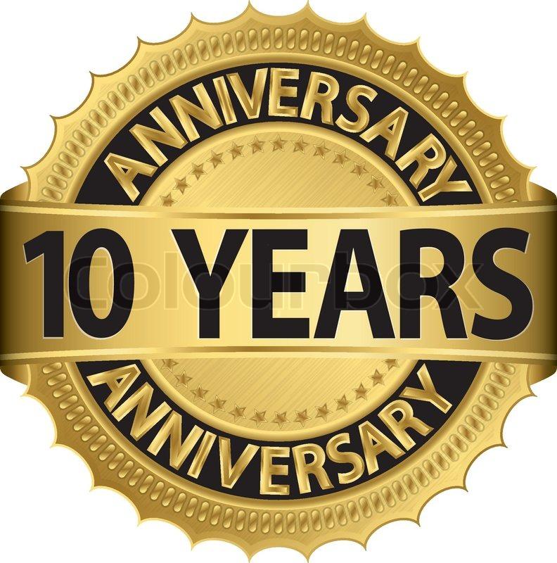 10 Year Anniversary Symbol Bigoo