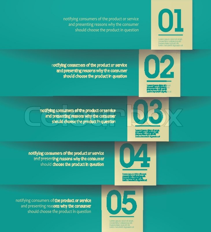 Design template - vertical yellow cutout lines graphic website ...