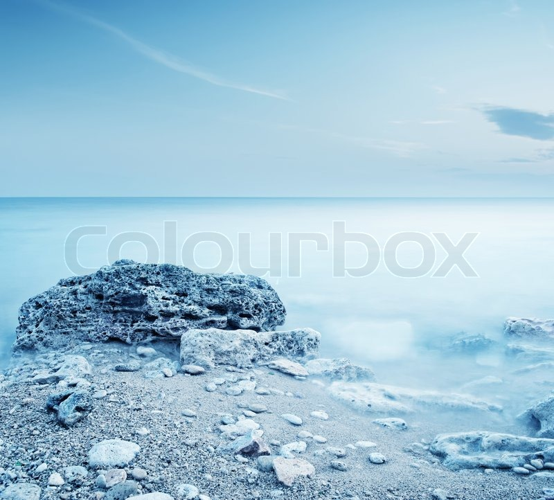 Stock image of sea in crimea