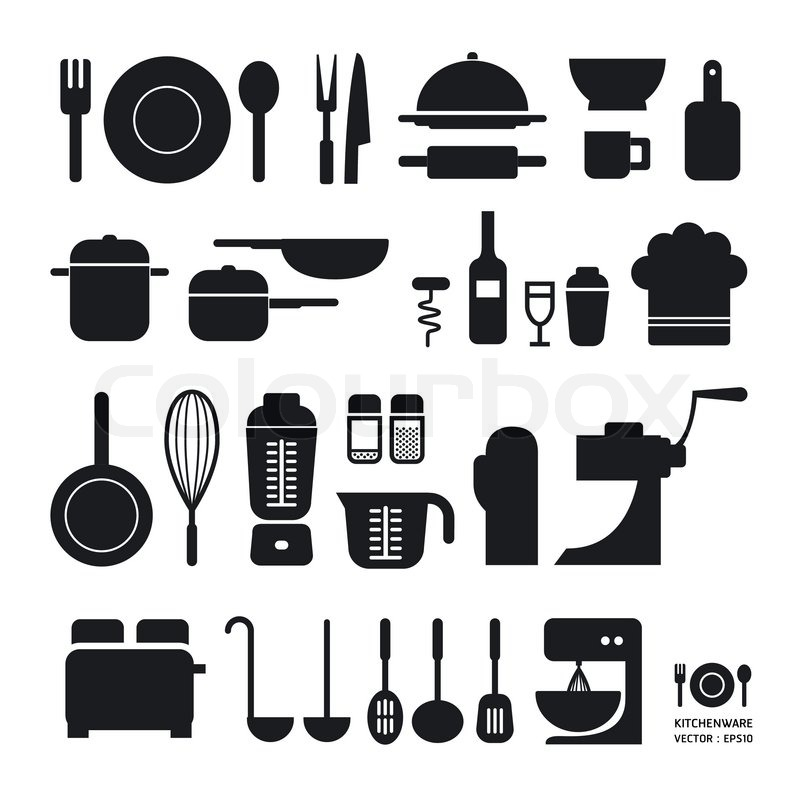 Superieur Kitchen Tool Icons Collection / Can Be Used For Infographics / Graphic Or  Website Layout Vector/Horizontal | Stock Vector | Colourbox