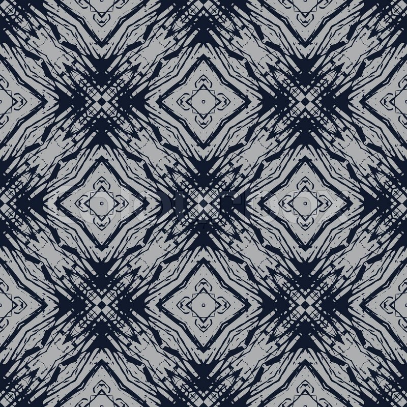 Navy Blue And Grey Lines Simple Geometric Vector Design