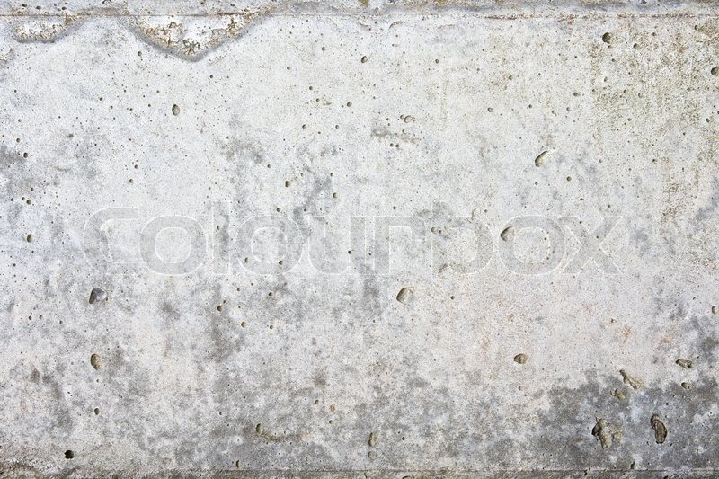 Old Concrete Column Surface Texture Stock Photo