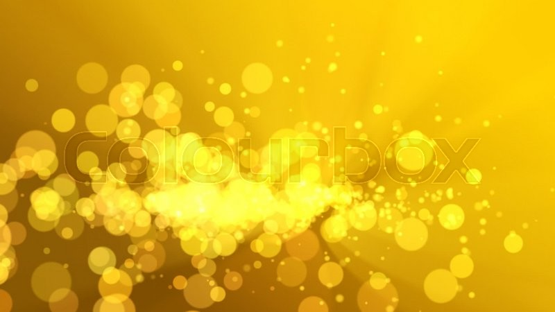 Abstract Golden Light Background Stock Video Colourbox