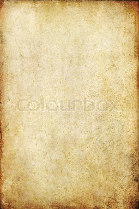 Old grunge paper background, stock photo