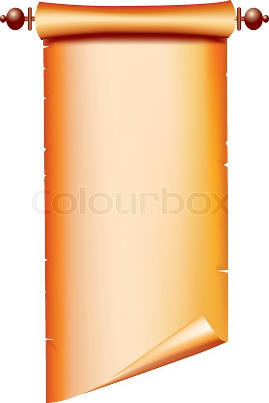Old paper -scroll Vector on white for text   Stock Vector ...   535 x 800 jpeg 34kB
