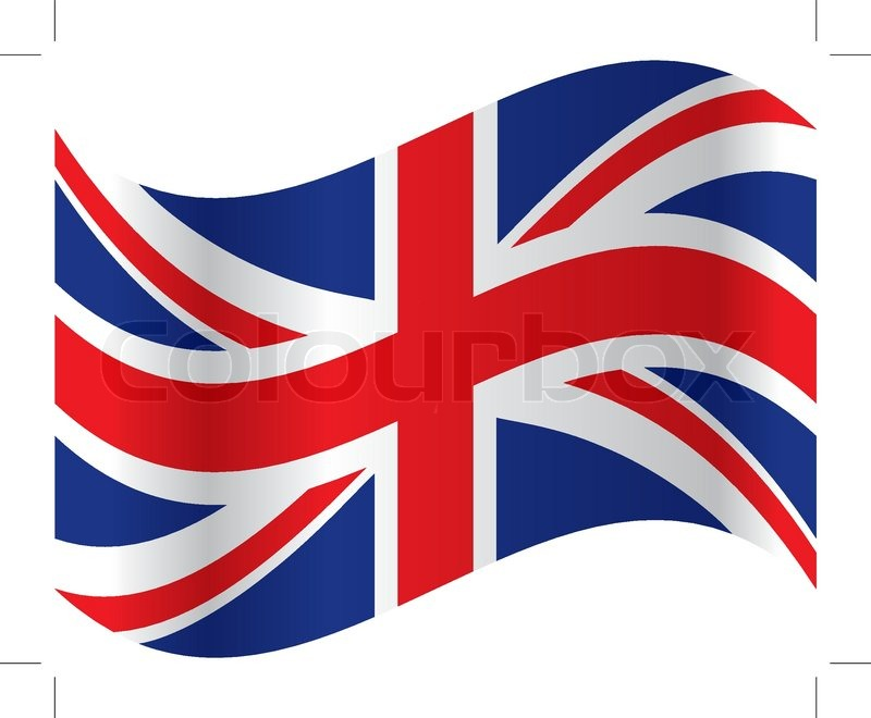 official flag of great britain vector stock vector colourbox rh colourbox com british flag vector eps british flag vector file