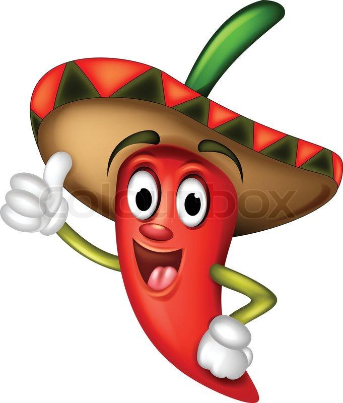 Vector Illustration Of Chili Pepper Stock Vector