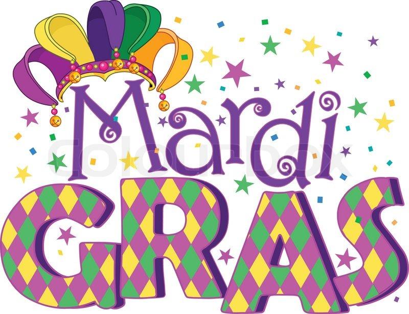 mardi gras stock vector colourbox rh colourbox com mardi gras clip art vectors mardi gras clip art drinks