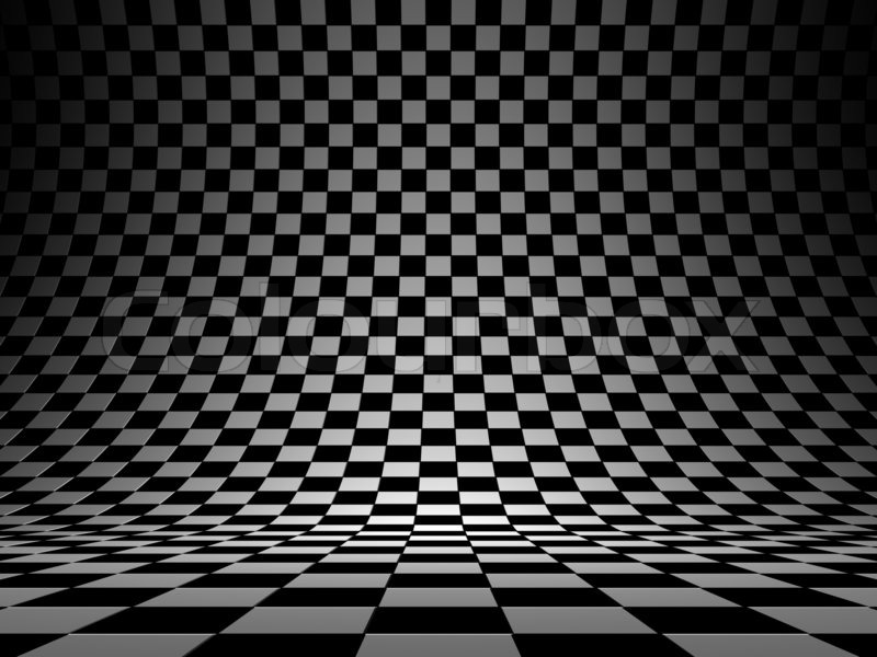 Checkered texture 3d background | Stock Photo | Colourbox