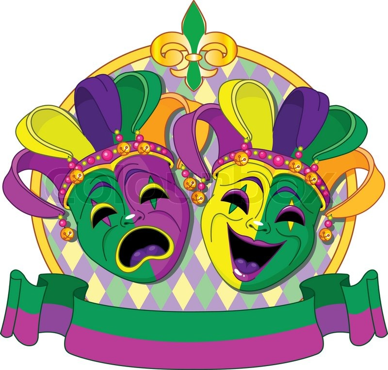 mardi gras masks design stock vector colourbox rh colourbox com mardi gras vector art mardi gras vector
