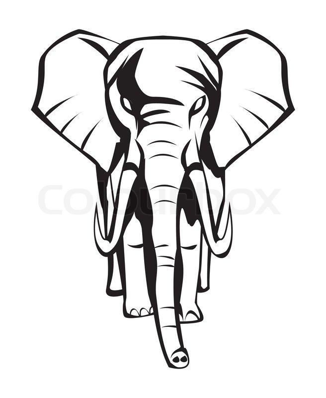 Elephant | Stock Vector | Colourbox
